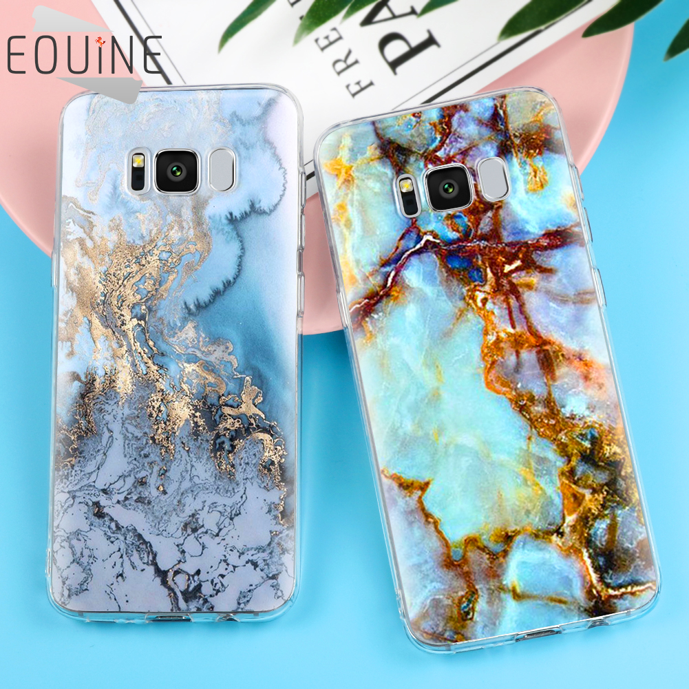 Marble Image Coque Case For Samsung Galaxy S5 S6 S7 Edge