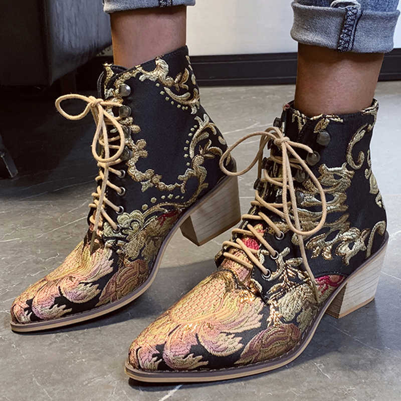 ผู้หญิงสีดำรองเท้า Faux Suede Slim ปักส้นสูง Point Toe แพลตฟอร์มรถจักรยานยนต์เซ็กซี่รองเท้าผู้หญิงปั๊ม Zapatos Mujer 0085W