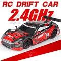Высокоскоростной Радиоуправляемый гоночный автомобиль  четыре колеса  беспроводной 2 4g Радиоуправляемый автомобиль  игрушки с дистанционн...