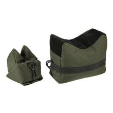 Tactical Shooting Training Sandbags Set Target Portable Front & Back Bag Militar