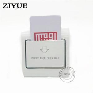 Image 2 - 20ピース/ロットどんなカード電源スイッチ省エネスイッチ用ホテルのキーカードスイッチクレジットカード紙銀行カード作品