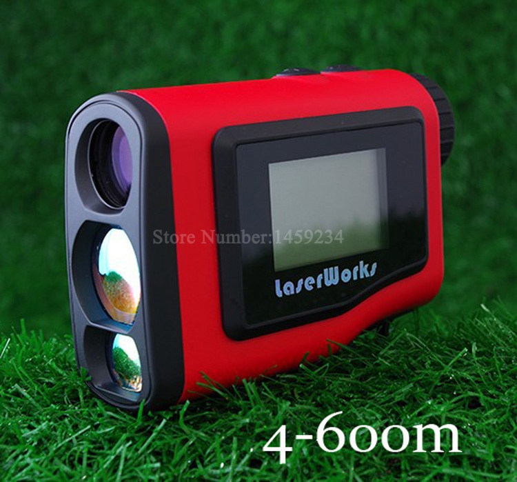 2016 Monocular Angle of Elevation 600M Laser Golf font b Rangefinder b font Laser Angle Finder