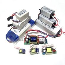 Controlador LED de alta potencia de 300mA, 600mA, 900mA, 1W, 5W, 10W, 20W, 30W, 36W, 40W, 50W, 60W, fuente de alimentación de transformadores de iluminación de corriente constante