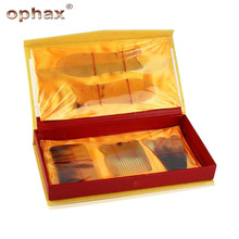 OPHAX 5Pcs/Set Health Care Massage Guasha Tool Woman Beauty Slimming Body Meridian To Dredge Scraping Plate Gift Relax Products