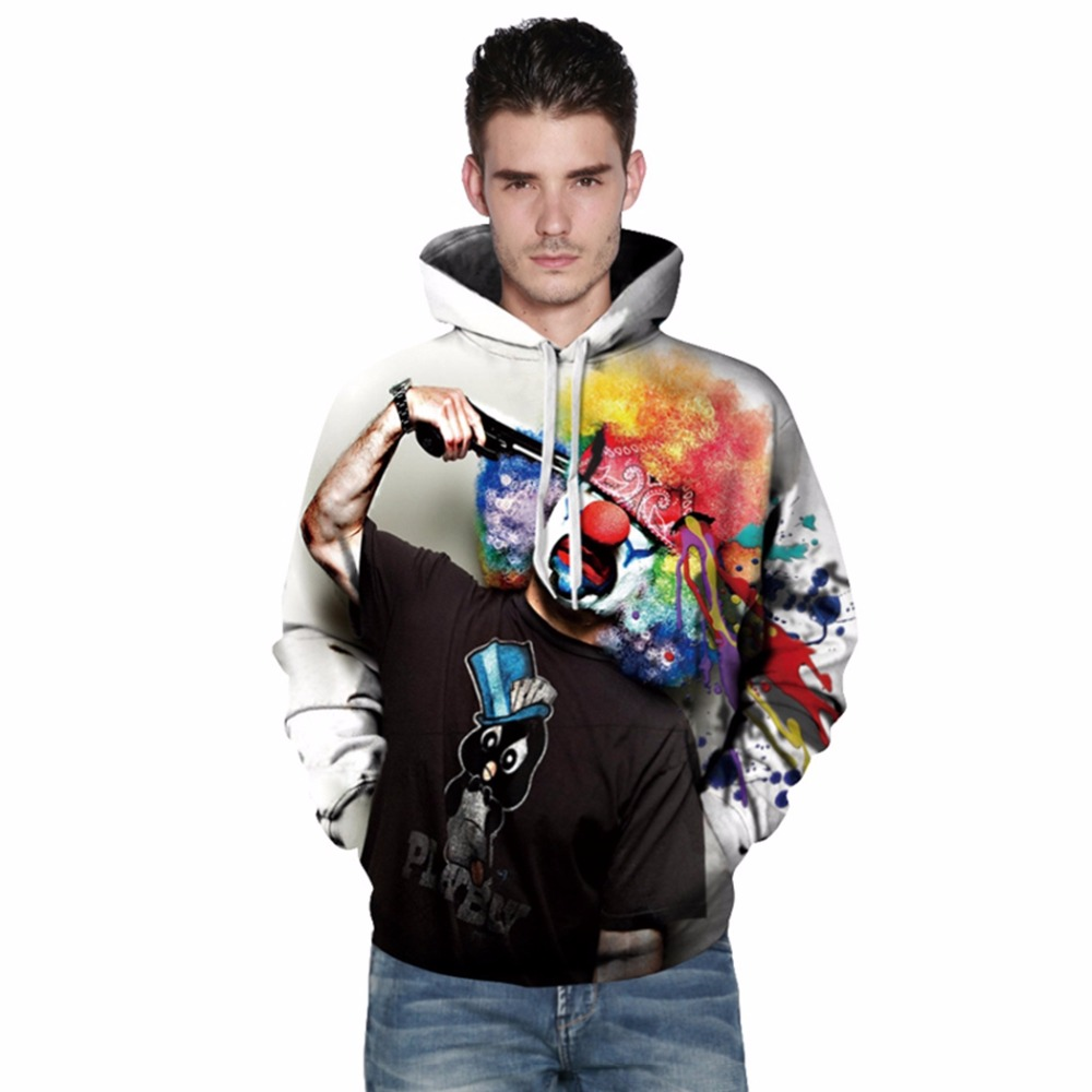 3D Printed Fashion Mens Womens Hoodies 2018 Spring Hooded Unisex Sweatshirt Cartoon Sweatshirt Hip Hop Tracksuits