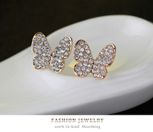 4pcs Cute Butterfly Girls Kids Jewelry Sets