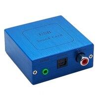 PCM2704 USB DAC USB To S PDIF Sound Card Decoder Board Aluminum Case