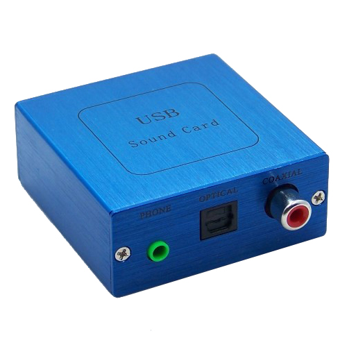 PCM2704 USB DAC USB to S/PDIF Sound Card Decoder Board + Aluminum case
