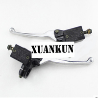 XUANKUN Motorcycle Disc Brake Assembly Brake Handle About Pump To Pump Accessories