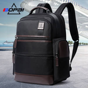 c8a80156ea BOPAI 14-15.6 Inch Oxford Laptop Backpack Men Women Weekend Travel Backpacks  USB Charging Black School Computer Notebook Bags