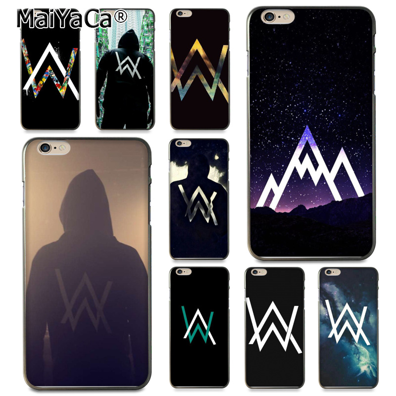 MaiYaCa Alan Walker DJ Faded Diy Printing Drawing TPU phone case for Apple iPhone 8 7 6 6S Plus X 5 5S SE 5C Cover