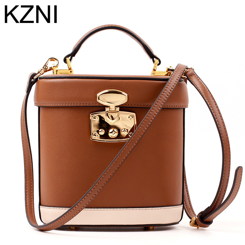 ФОТО KZNI genuine leather women messenger bag shoulder strap leather bags women bolsas femininas bolsas de marcas famosas L032511