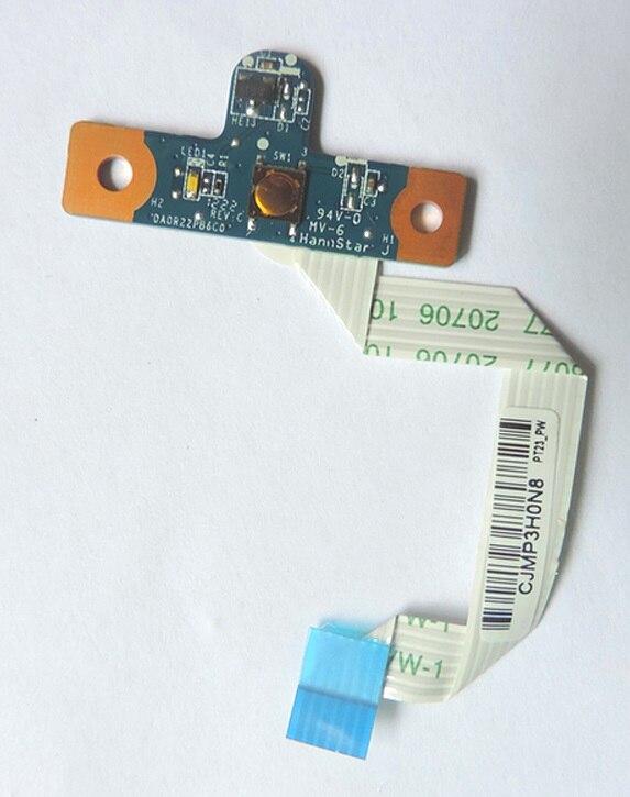 все цены на WZSM New power button switch board with cable for HP Pavilion G4 G6 G7 G6-1000 G7-1000 P/N 640212-001 643502-001 DA0R22PB6C0 онлайн