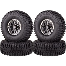 1065-7036 RC 1.9 Metal 1/10 Rock Crawler Wheel Complete Dick Cepek Mud Country