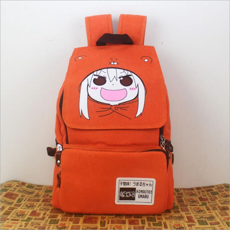 Anime Himouto! Umaru-chan backpack student cute cartoon Doma Umaru school bags travel canvas UMR backpacks japan anime himouto umaru chan wallet doma umaru cosplay coin card women men bifold purse