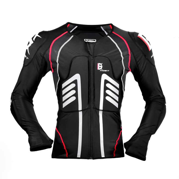 Ghost Racing Lycra clothes material Motorcycle Armour Jacket  Mountain BikeJacket Meets Body Armour Wear Ski Protection Clothing rs taichi rsj285 motorcycle drymaster storm jacket racing clothes