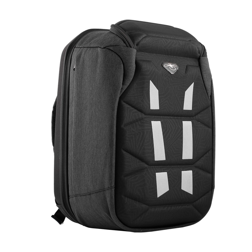 1pcs Universal Backpack Hardshell Carrying Case Bag for DJI Phantom 3/4 Waterproof dji phantom 3 vision professional advanced standard version hardshell aluminum suitcase box carrying case bag