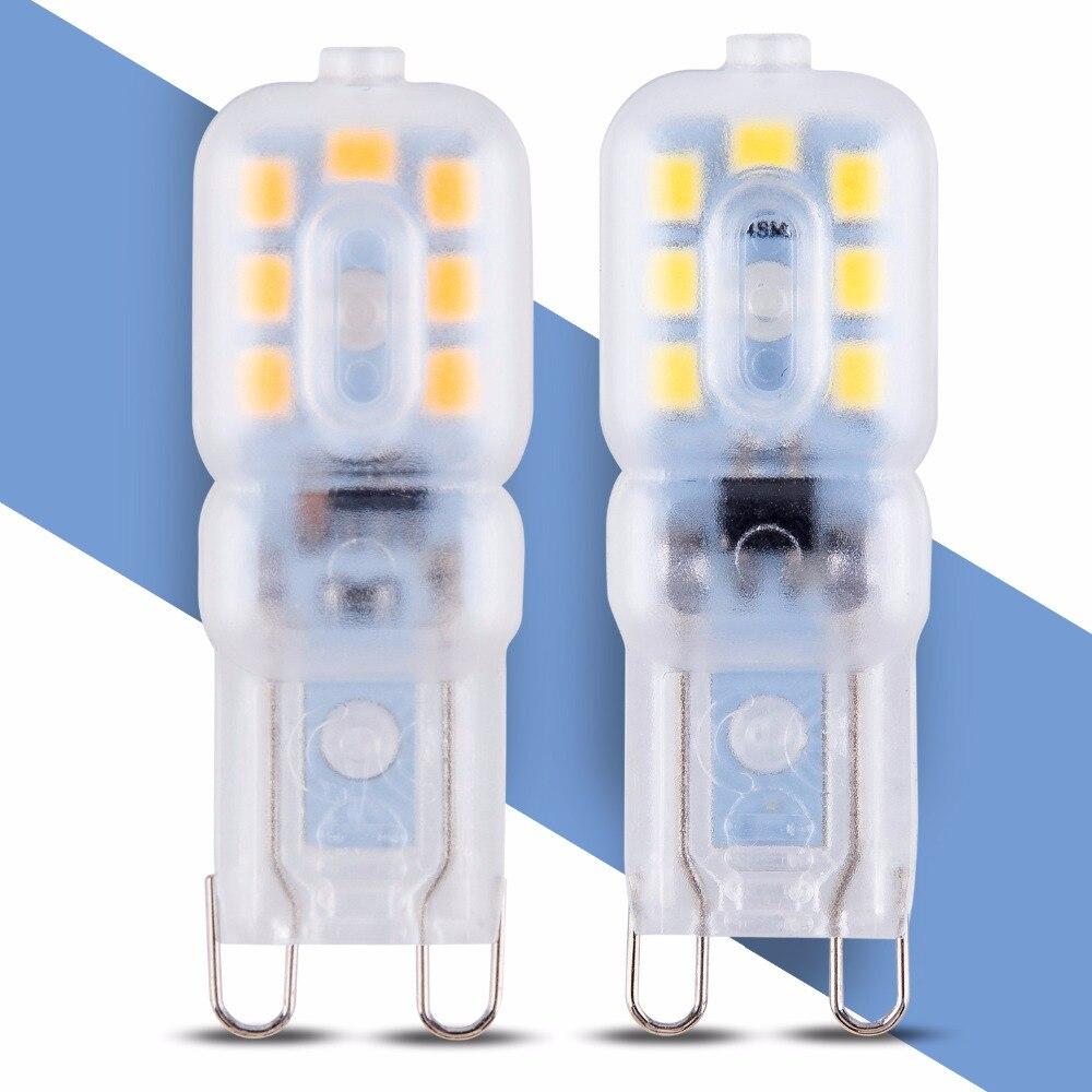 G9 Led 220V Energy Saving Corn Bulb SMD 2835 Replace Halogen Lamp 3W 5W Led Bulb g9 Mini 14 22leds Spotlight Chandelier Lighting