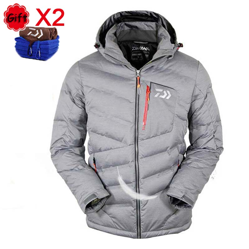 Outdoor Sports Fishing Clothing White Duck Down Jacket Men Winter Warm Windproof Thick Camping Hiking Fishing Clothes CoatsOutdoor Sports Fishing Clothing White Duck Down Jacket Men Winter Warm Windproof Thick Camping Hiking Fishing Clothes Coats