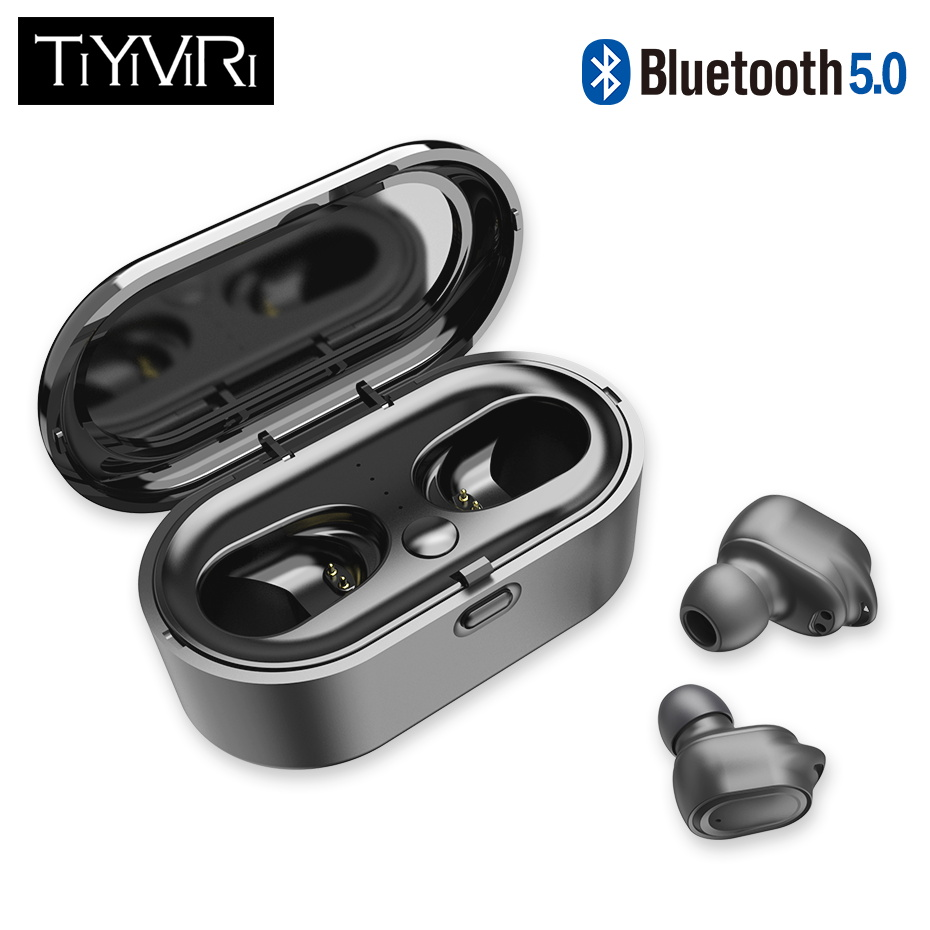 Earphones Wireless Bluetooth Wireless Headphone CVC8.0 Noise Cancelling Sport Earbuds With Dual Mic For Phones IPhone Samsung
