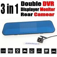 Car BlackBox DVR Dash Camera Driving Video Recorder Front Rear Double Cameras DVR For Mitsubishi Evolution