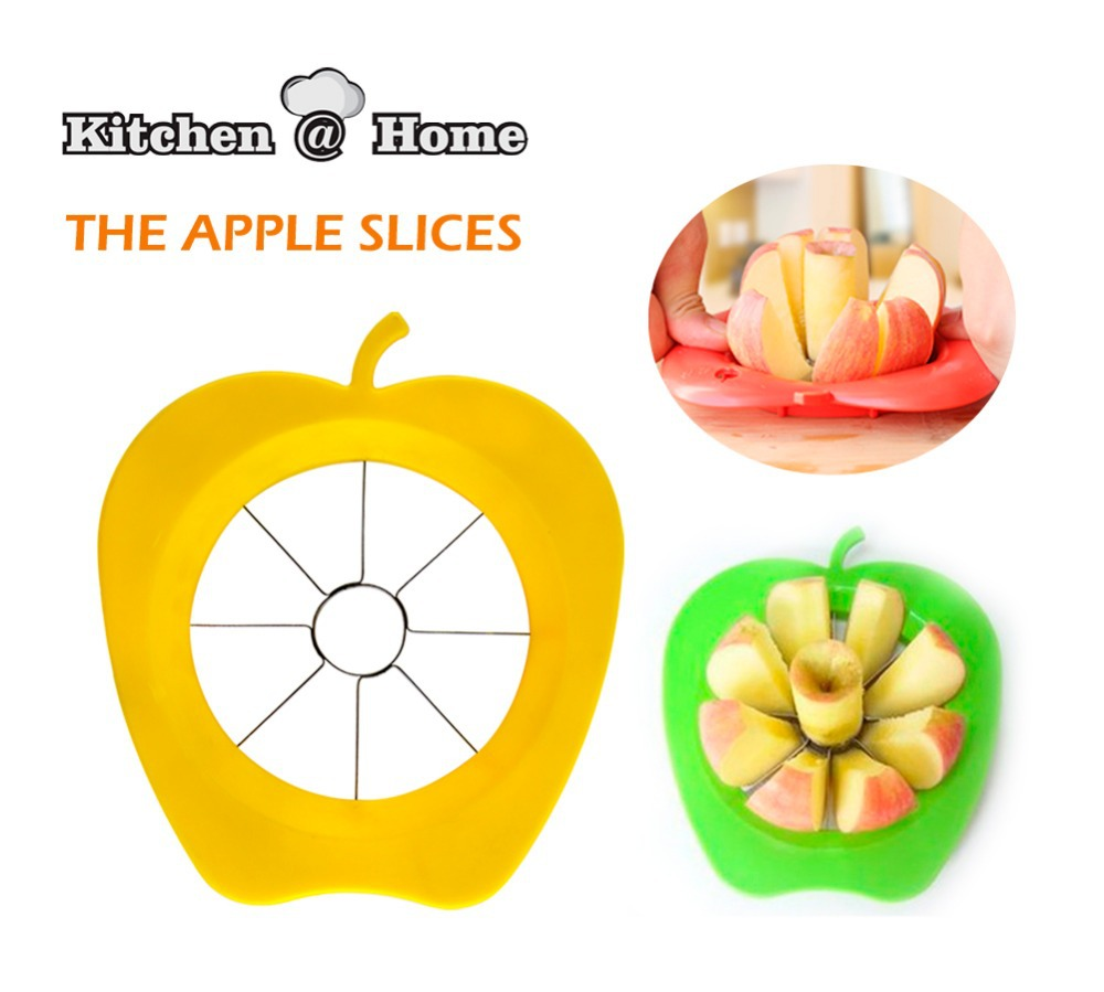 Kitchen Tool Apple Fruit Easy Slicer Peeler Cutter Stainless Steel Metal Kitchen