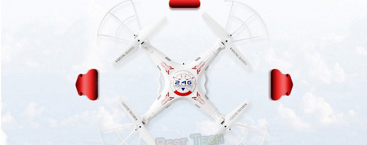 X5C-1 RC Drone with Headless Auto-return Professional Remote Control X5C Quadcopter 2.4G Drones can add 720P HD Camera  7