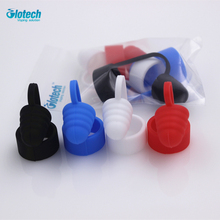 Glotech 20pcs Silicone rubber Atomizer Dust Cap for Electronic Cigarette vaporizer mouthpiece drip tip cap fit RDA RBA atomizer