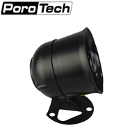 WT2000 10W Small Siren Alarm Horn Audio Speaker Outdoor Voice Broadcast Support Micro SD Card Playback