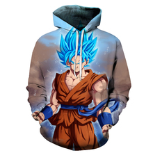 Dragon Ball Z Super 3D Printed Hoodies Sweatshirts with Pockets – AF1175