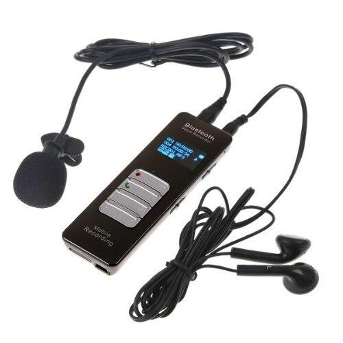 HBUDS 4 GB Sans Fil Bluetooth Mobile D'appel Téléphonique Vocal Audio Recorder Dictaphone Mp3