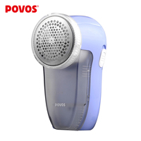 Hot Povos PR321 Blue Fuzz Lint Remover Rechargeable Electric Woolen Clothes Trimmer Shaver Free Shipping In