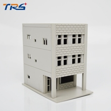 free shipping scale 1/150 model train building Miniaturas Furniture House plastic model tower for architecture model layout