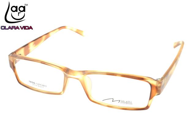 Diseñador De Gafas De Marco TR90 Ultra Ligero Para Mujer Leopardo Por Encargo Óptico Prescription Miopía Gafas Fotocromáticas-1 A 6