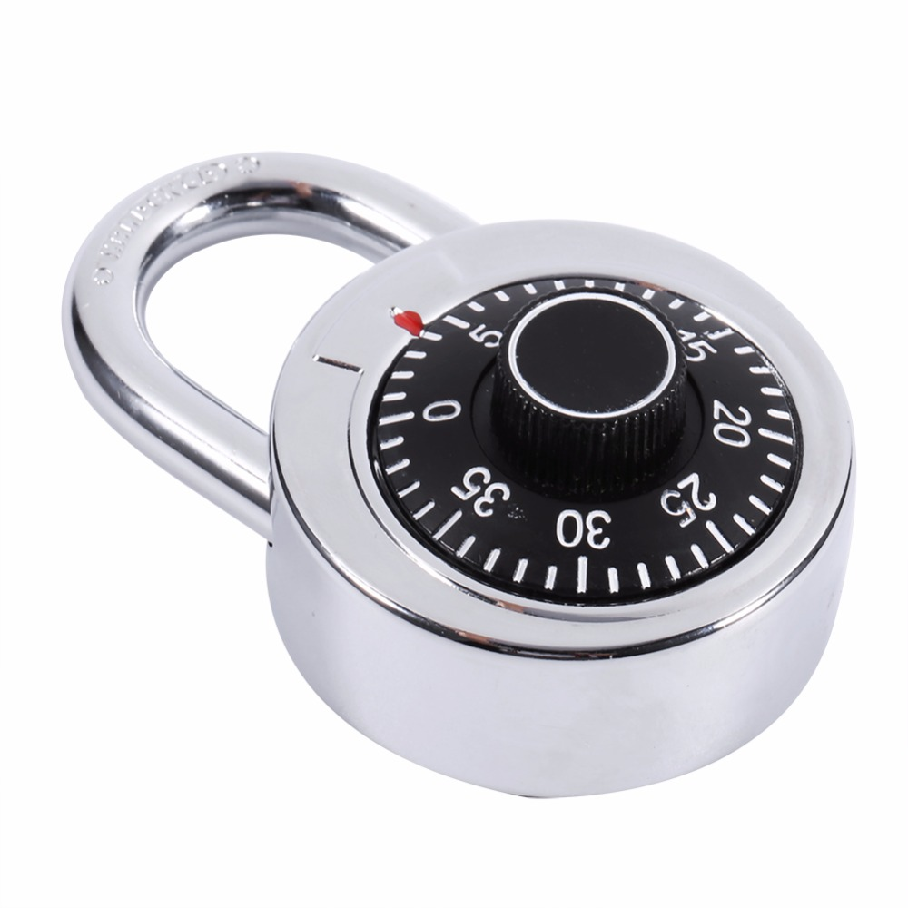 Best Seller Gembok Kawat Kombinasi Shirt Daftar Harga Terkini Dan Multimeter Analog Kecil Krisbow Kw0600266 Rotary Digit Combination Padlock Round Dial Number Code Lock Safes Gear In Locks From