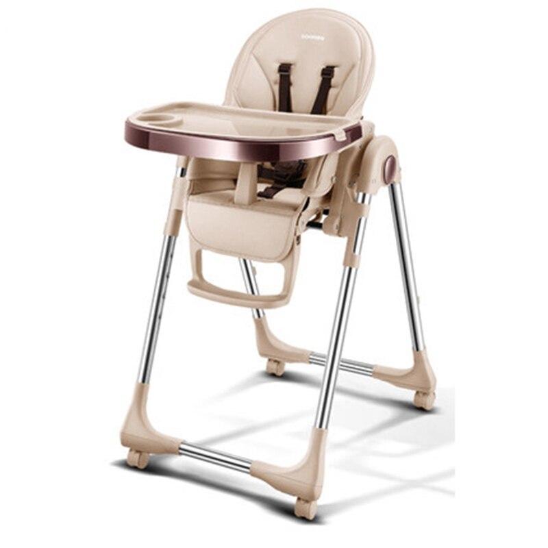 Baoneo Russo autentica di trasporto libero portatile del bambino seggiolino del bambino tavolo da pranzo multifunzionale pieghevole regolabile sedie per i bambini