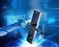 Отпечатков пальцев Сенсорный пароль вход Anti Theft замок двери электронный смарт замки