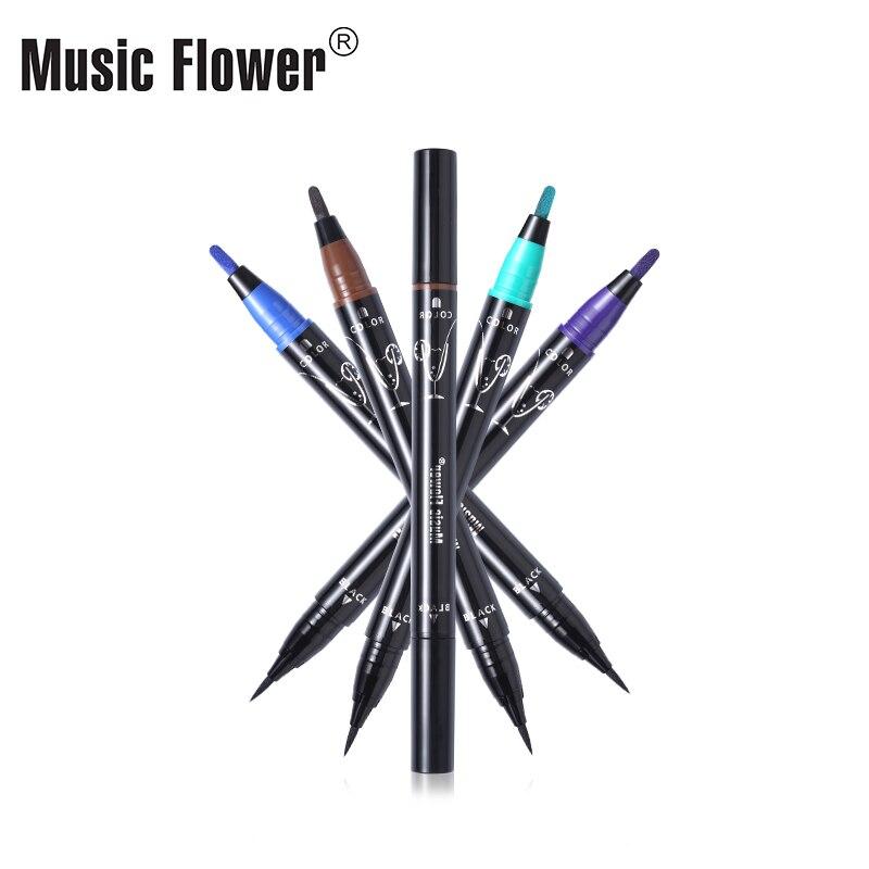 Music Flower Multiple Scope Сұйық Көз Қаламы Pen Super - Макияж - фото 3