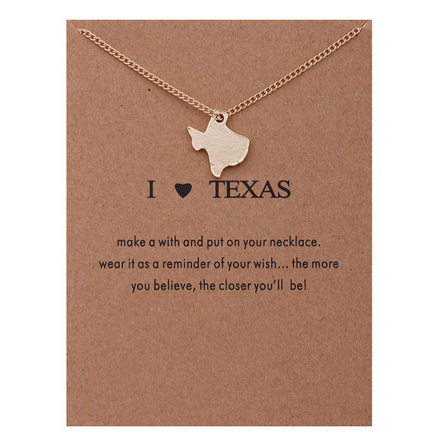 Fashion love gold color reminders i heart texas pendant necklace fashion love gold color reminders i heart texas pendant necklace women jewelry mozeypictures Choice Image