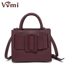 Vvmi women bag luxury brand designer bobby handbag big square buckle female totes single shoulder bags 2016 new fashion star