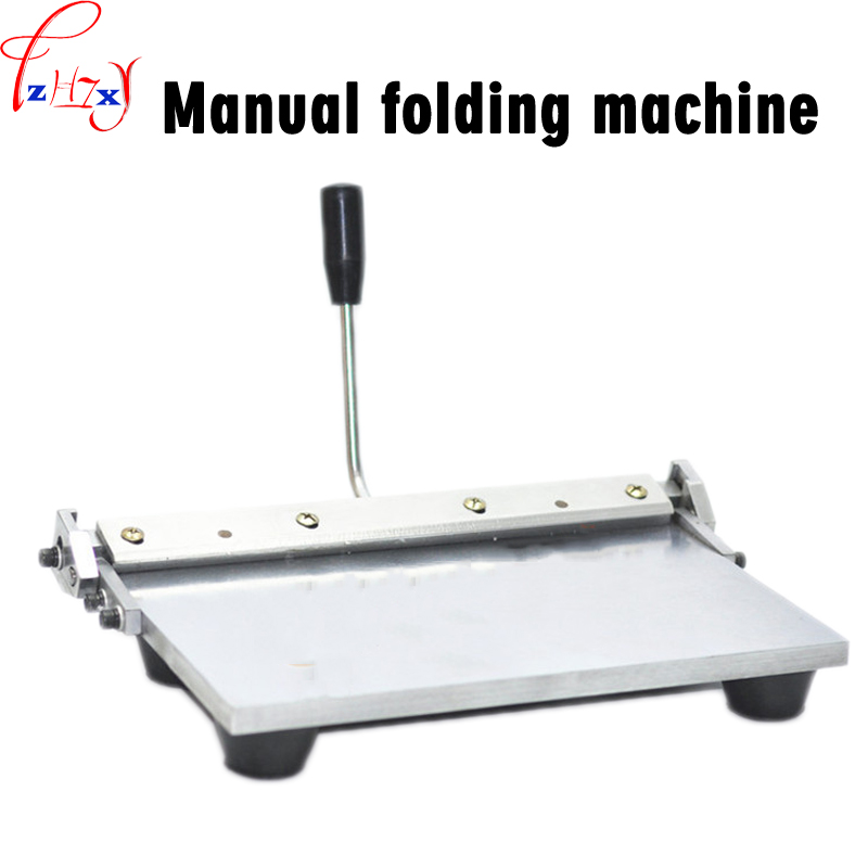 Manual Edge Folding Machine 14 Inch Leather Wallet Handbag With Plastic Flanging Machine Manual Folding Tools 1pc