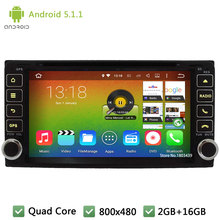 Quad core Android 5.1.1 2Din WIFI DAB+ Car DVD Player Radio Stereo PC For TOYOTA RAV4/Camry/Corolla/Vitz/Echo/VIOS/HILUX/Terios