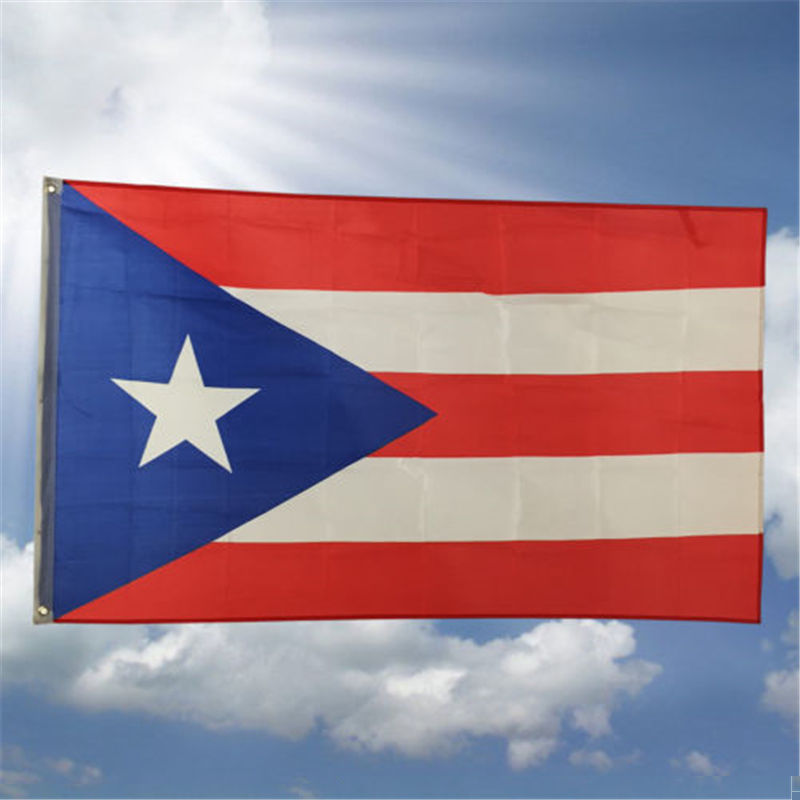 Hot Puerto Rican Flag Of Puerto Rico 3 X 5 Feet With Brass -4257