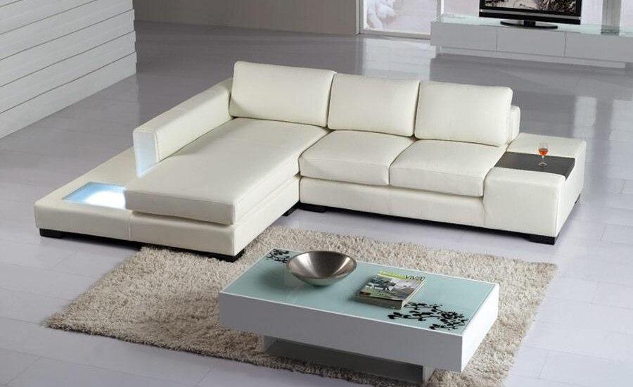 corner divano in pelle-acquista a poco prezzo corner divano in ... - Bianco Dangolo Divano