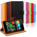 Genuine Real Leather Flip Wallet Cover With Card Holder Protective Case For Microsoft Nokia Lumia 640 Original Cell Phones Case
