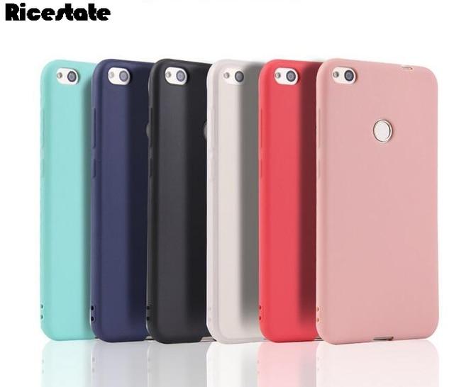 For Xiaomi Redmi 4X 4A 5A Redmi 5 Plus Mi A1 5X Note 5 5A Pro S2 Redmi 6 6A PRO Clear TPU and solid Back Cover Silicon case