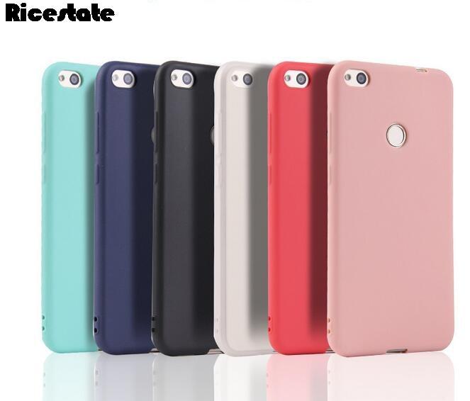 For Xiaomi Redmi 4X 4A 5A Redmi 5 Plus Note 5 5A S2 Redmi 6 7 8 6A 7A 8A Note 7 8 9 9S Pro Silicone solid Soft Back Cover case(China)