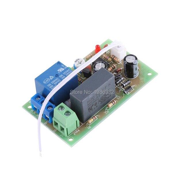 WS16 AC 220 V 230 V 240 V relais de temporisation du temps de déclenchement NE555 Module minuterie de retard éteindre 1 sec ~ 5 minutes commutateur réglable