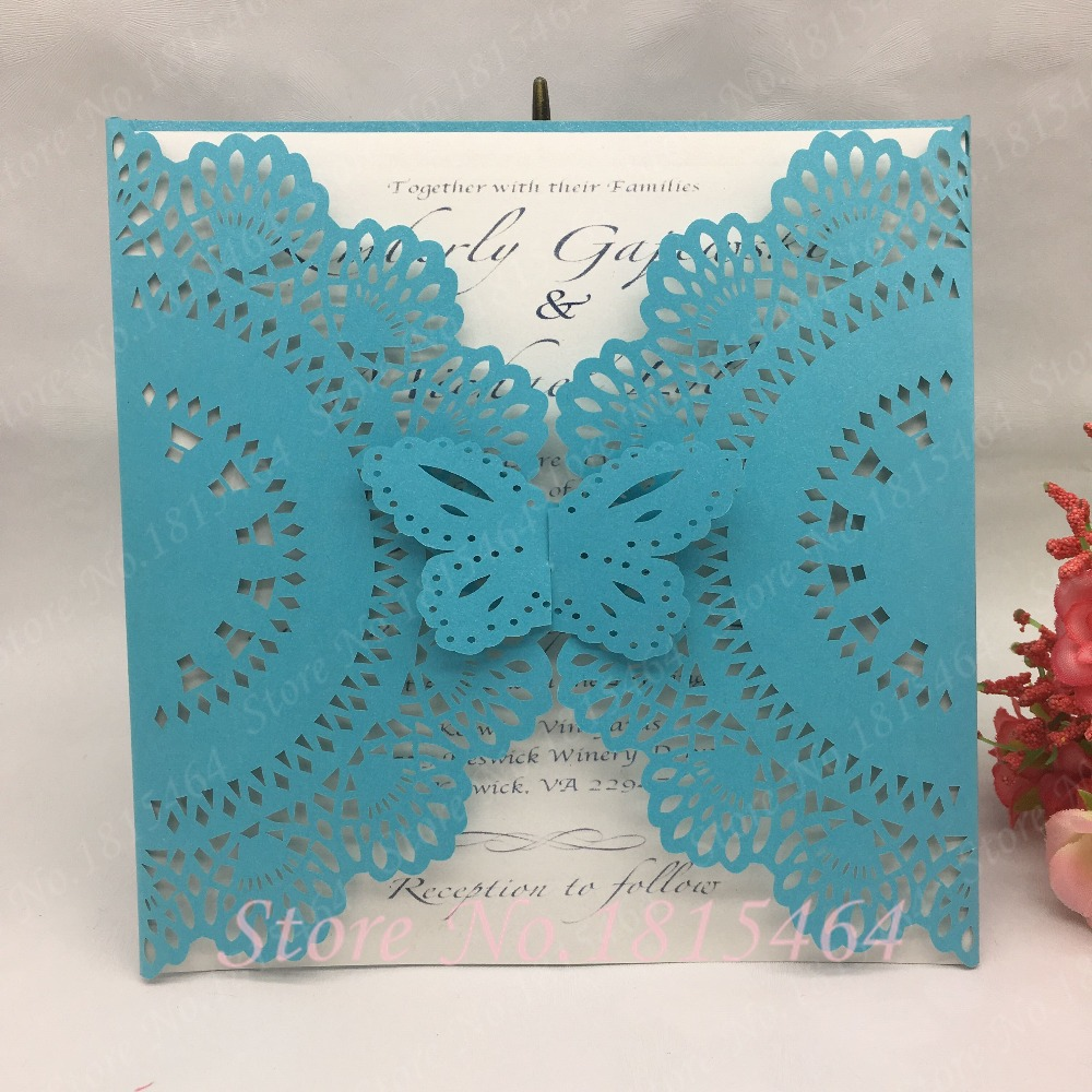 10 PERSONALISED CHRISTENING WISH CARDS BUTTERFLIES PINK BLUE LILAC GREEN