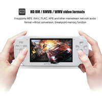 4.3 Inch Ultra Thin 8GB Memory handheld game player Video Game Console MP5 Music Player support Camera video for E Book